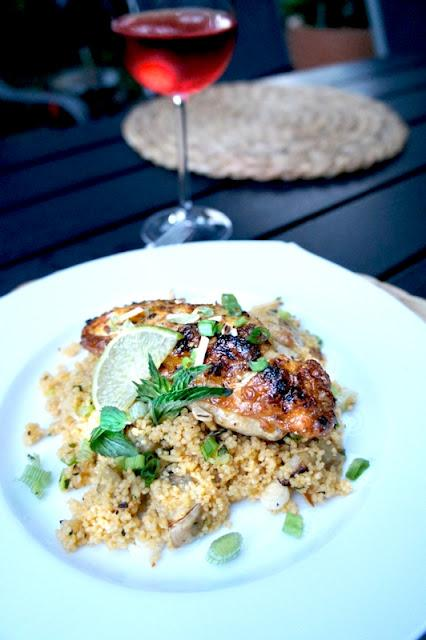 Sticky Chicky mit Spicy Couscous