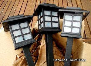 gartenlichter. Black Bedroom Furniture Sets. Home Design Ideas