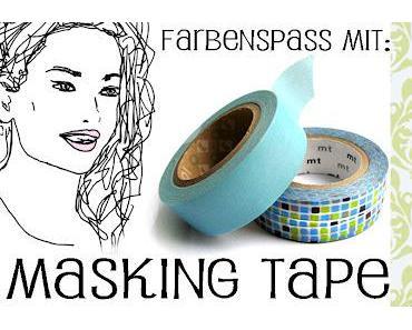 DIY - Farbenspaß mit masking tape