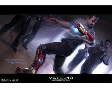 """Marvel: Concept Art zu """"Iron Man 3"""", News zum Geheimprojekt für 2014"""