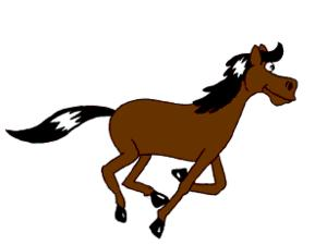 Animated horse, made by rotoscoping 19th centu...