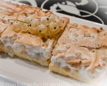 ♥ Ein Träumchen in Weiss ♥  – Weisse Johannisbeer Baiser Torte