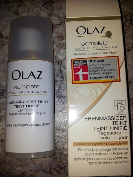 Review Olaz Complete Touch Of Foundation