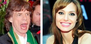 Mick Jagger: völlig besessen von Angelina Jolie