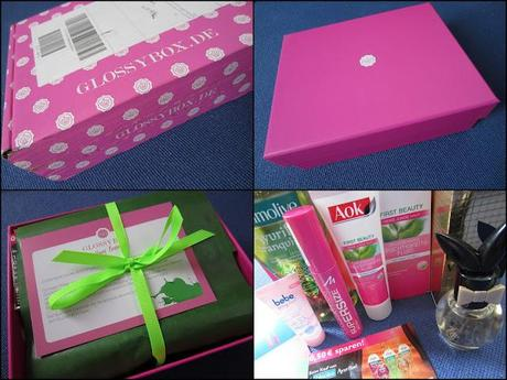 Glossybox Young Beauty Juli 2012 - unboxing