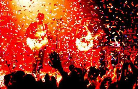 Konzert von Ok Go Williamsburg Park