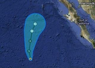 Tropischer Sturm FABIO nähert sich Baja California - Gefahrenpotenzial nur sehr gering