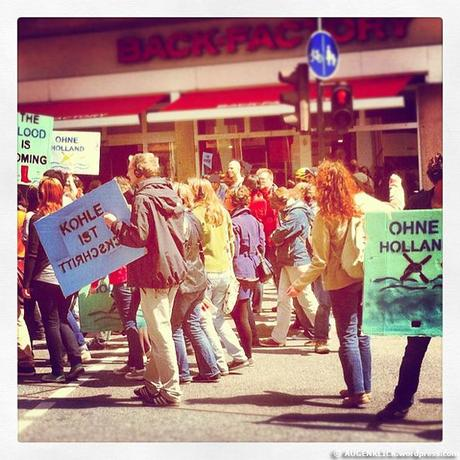 Eine Demo in Mainz