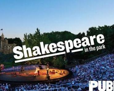 Shakespeare im Central Park von New York