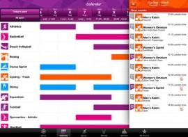 London 2012: Official Results App des Organisationskomitees