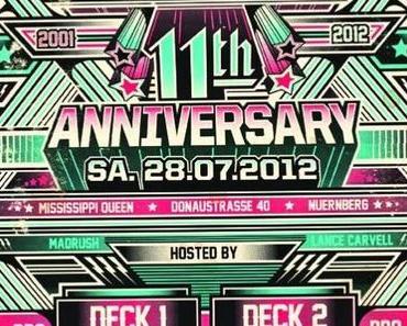 28.7.2012 – 11 Jahre Buckshot Nürnberg Birthday Bash