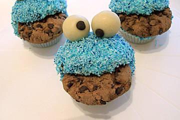 Krümelmonster-Muffins: Rezept