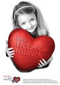 Herzkranke Kinder haben einen Wunsch frei