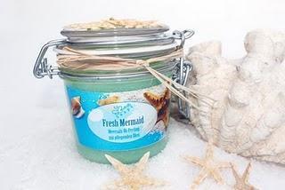"""Meersalz-Öl-Peeling """"Fresh Mermaid"""""""