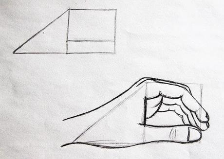 Zeichenkurs Tutorial Hände Zeichnen Lernen Teil 1