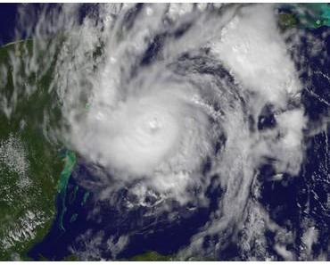 Hurrikan PAULA  bedroht Riviera Maya (Mexiko) und Kuba