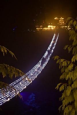 Canyon Lights at Capilano Suspension Bridge, North Vancouver