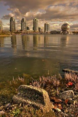HDR: False Creek + Science World