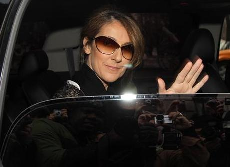 Singing sensation Celine Dion gets cheered by her adoring fans as she exits her New York City hotel on Wednesday, March 10th, 2010. Moments after she is driven away, her husband Rene arrives at the hotel. Fame Pictures, Inc