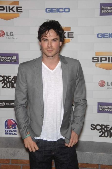 Ian Somerhalder during SPIKE TV's SCREAM 2010, held at the Greek Theatre, on October 16, 2010, in Los Angeles. Photo: Michael Germana Star Max Photo via Newscom