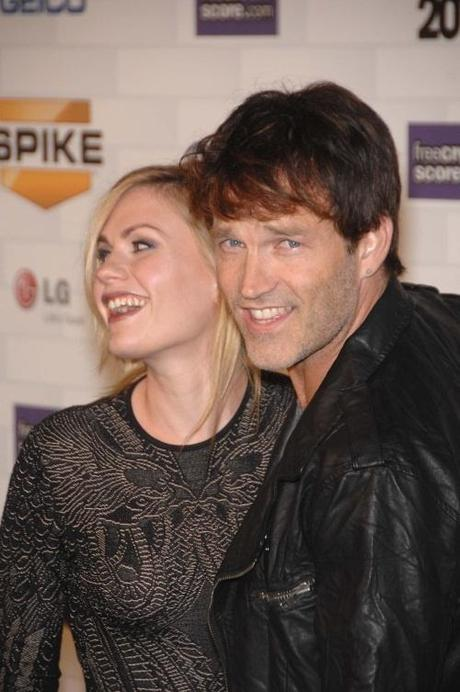 Anna Paquin and Stephen Moyer during SPIKE TV's SCREAM 2010, held at the Greek Theatre, on October 16, 2010, in Los Angeles. Photo: Michael Germana Star Max Photo via Newscom