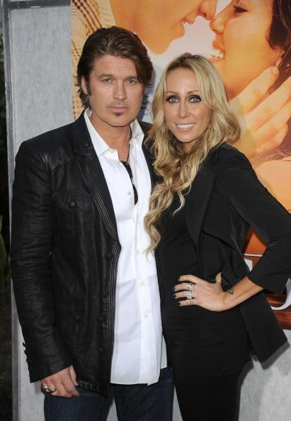 LOS ANGELES, CA - MARCH 25: Billy Ray Cyrus and Tish Cyrus arrive at the 'The Last Song' Los Angeles premiere held at ArcLight Hollywood on March 25, 2010 in Hollywood, California. (Photo by Jason Merritt/Getty Images)