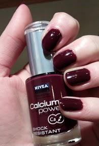 Lackiert: Nivea Calcium Power