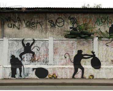 Streetart im Hinterhof Europas
