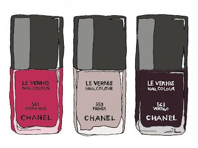 nagellack hitchcock les essentiels de chanel. Black Bedroom Furniture Sets. Home Design Ideas