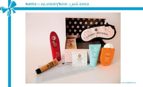 Battle :: GLOSSYBOX vs. ScrapbellaBOX :: Juli 2012