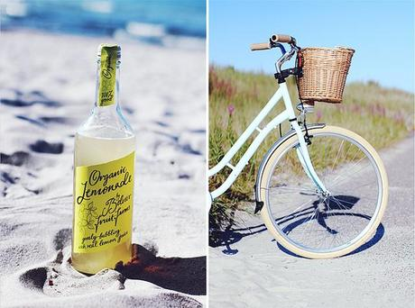 Strand Belvoir Lemonade Minzgrünes Hollandrad