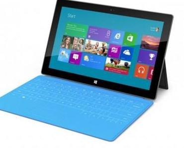 Microsoft Surface: Verkauf ab Ende Oktober