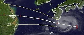 DAMREY wird wahrscheinlich Taifun zwischen Japan und Schanghai - oder doch Korea?