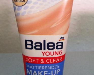 [Review] Balea Young Soft&Clear; Mattierendes Make Up