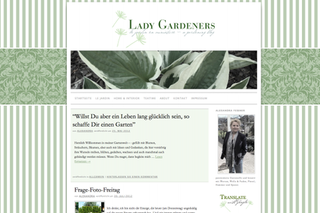 Blogvorstellung: Lady Gardeners Blog