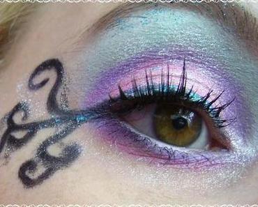 """Augen Make-Up zum Contest """"Ranken & Schnörkel"""""""