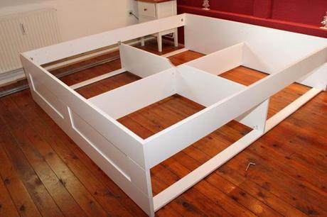 schlafzimmer mit bettuberbau kaufen: eingerichtete wohnzimmer, Hause deko