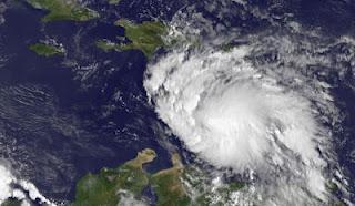 Tropischer Sturm ERNESTO auf dem Weg nach Yucatán - Sturmwarnung Jamaica