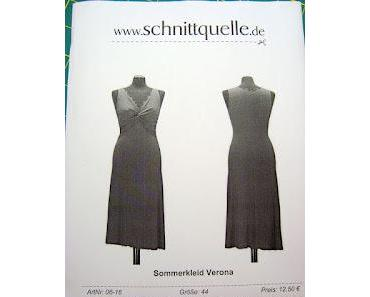 """Knotenkleid (Schnittquelle-Sommerkleid """"Verona"""")"""