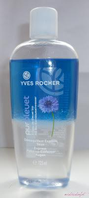 Review Yves Rocher Express Augen Make Up Entferner