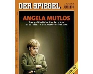 Angela Merkel in Titelbildern/ no comment