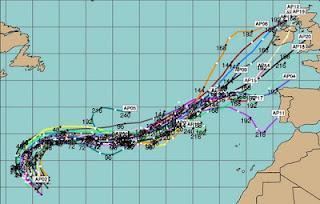 Pot. Tropischer Sturm GORDON zieht nicht in die Karibik, sondern nach Europa
