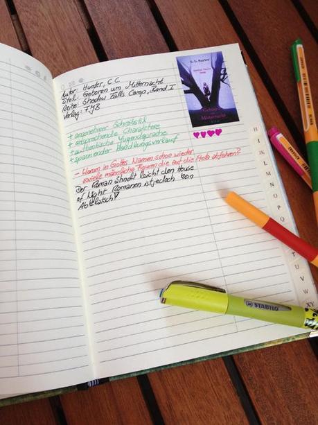 sch nes book journal notizbuch selbst gestalten. Black Bedroom Furniture Sets. Home Design Ideas