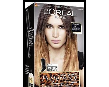 Mit Loreal PRÉFÉRENCE zum Ombre Hair-Look