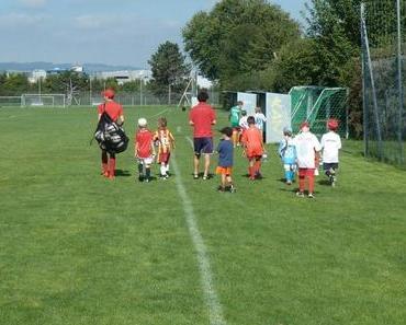 Fussball-Camp: eine Woche lang mit Freude Fussball spielen