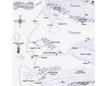 Welche Landkarte soll mein Buch Ynsanter schmücken?