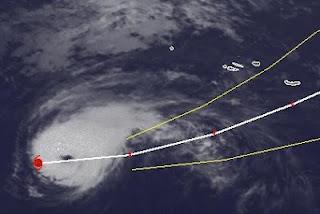 Hurrikan GORDON erreicht Kategorie 2 - Landfall auf Santa Maria, Azoren wahrscheinlich