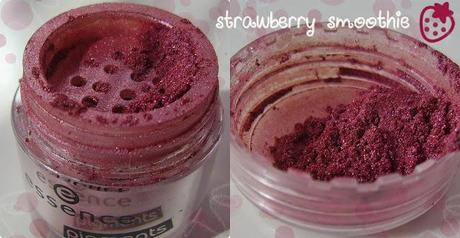 Essence Pigmente cotton candy strawberry smoothie