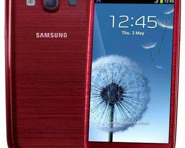 Ab September – Galaxy S3 auch in rot