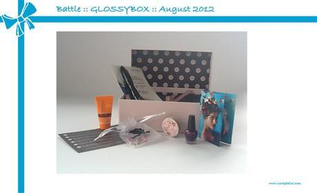 Battle :: GLOSSYBOX vs. ScrapbellaBox :: August 2012